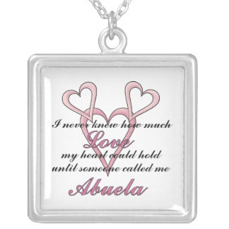 Abuela (I Never Knew) Mother's Day Necklace