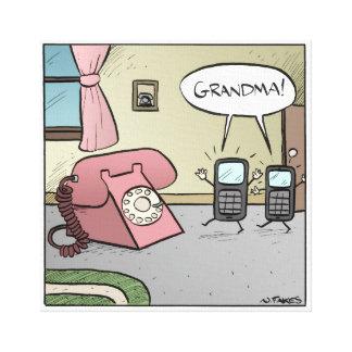 ¡Abuela!  Impresión de la lona Impresion En Lona