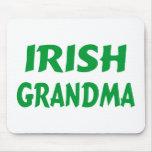 Abuela irlandesa alfombrilla de ratón