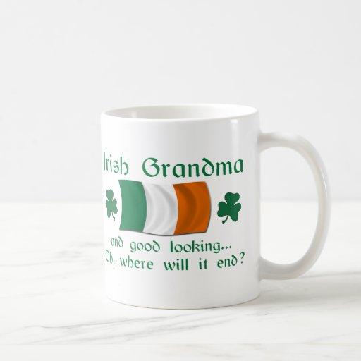 Abuela irlandesa apuesta tazas de café