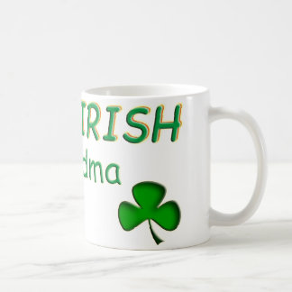 Abuela irlandesa astuta tazas
