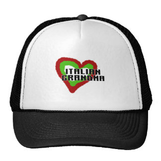 Abuela italiana gorras de camionero