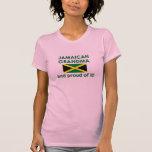 Abuela jamaicana orgullosa camiseta