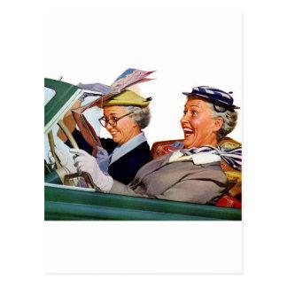 Abuela la reina de la velocidad postales