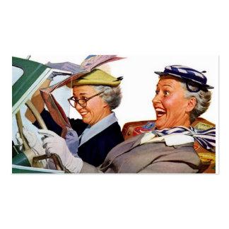 Abuela la reina de la velocidad tarjeta de negocio