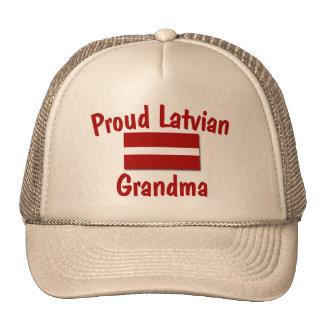 Abuela letona orgullosa gorro