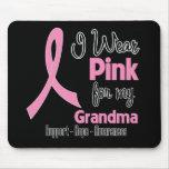Abuela - llevo rosa - cáncer de pecho alfombrilla de raton
