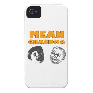 Abuela mala iPhone 4 cobertura