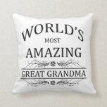 Abuela más asombrosa del mundo la gran almohada