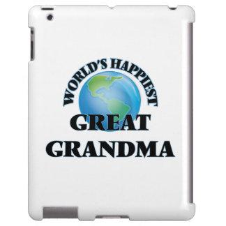 Abuela más feliz del mundo la gran funda para iPad