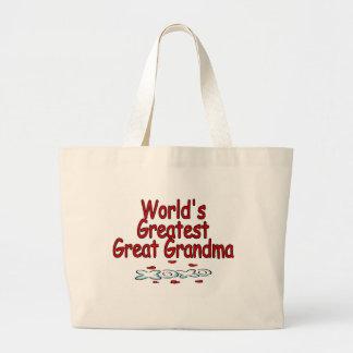 Abuela más grande del mundo la gran bolsa tela grande
