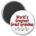 Abuela más grande del mundo la gran iman para frigorífico