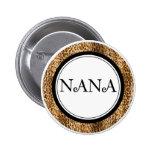 Abuela, Nana, botones de Mema Pin