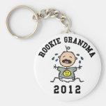 Abuela novata 2012 llaveros