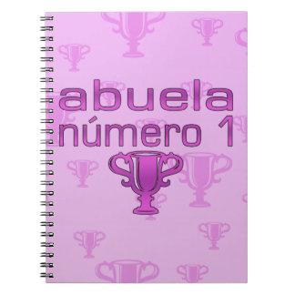 Abuela Número 1 Notebook