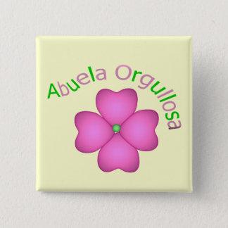 Abuela Orgullosa Button