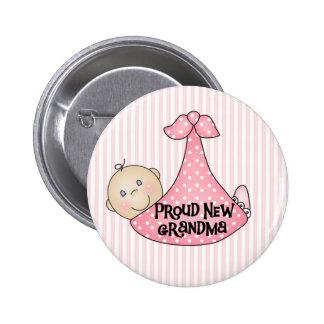 Abuela orgullosa de la niña pin