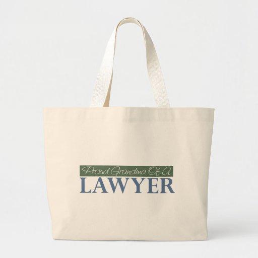Abuela orgullosa de un abogado (verde) bolsas