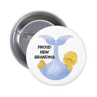 Abuela orgullosa del bebé pin