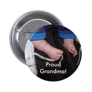 ¡Abuela orgullosa! Pin Redondo 5 Cm