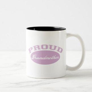 Abuela orgullosa taza