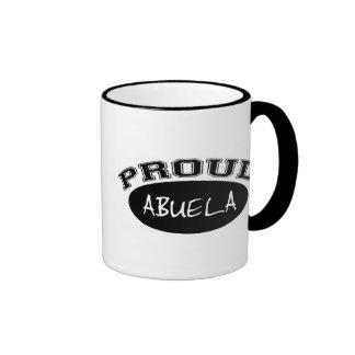 Abuela orgulloso (negro) taza de café