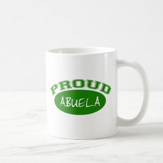 Abuela orgulloso (verde) taza