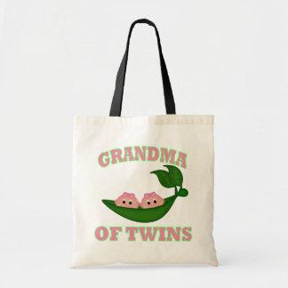 Abuela para hermanar a chicas bolsa lienzo