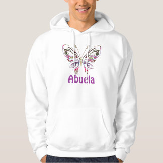 Abuela Personalized Butterfly Hoodie