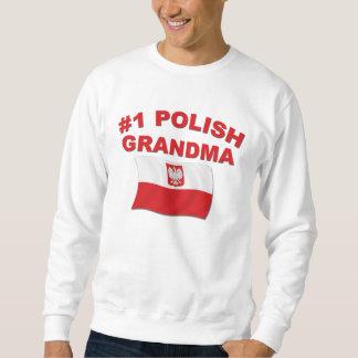 Abuela polaca #1 sudadera con capucha