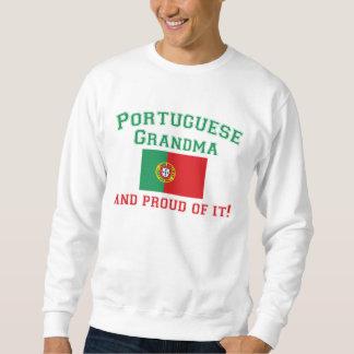Abuela portuguesa orgullosa jersey