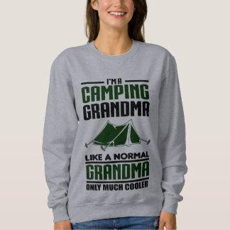 Abuela que acampa playeras