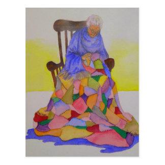 Abuela Smith - mini impresiones del coleccionable Tarjetas Postales