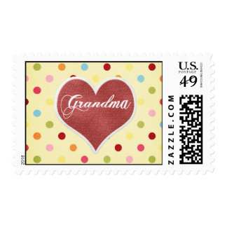 Abuela Timbres Postales