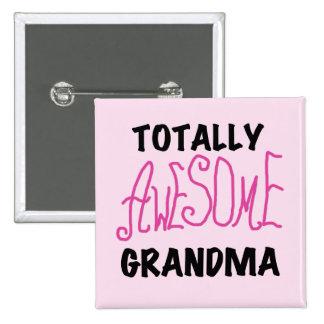 Abuela totalmente impresionante - camisetas y rega pins