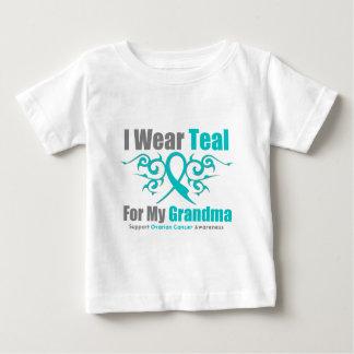 Abuela tribal de la cinta del trullo del cáncer tshirts