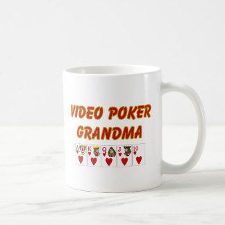 abuela video del póker taza