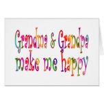 Abuela y abuelo felicitación