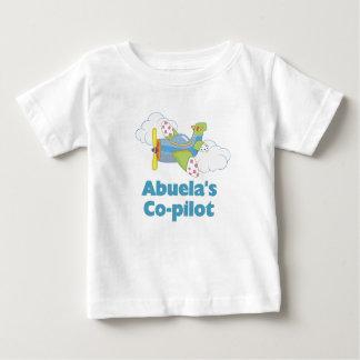 Abuela's Co-pilot Baby T-Shirt