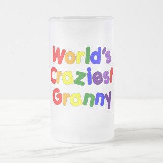 Abuelas divertidas de la diversión: La abuelita má Tazas