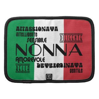 Abuelas italianas: Calidades Planificadores