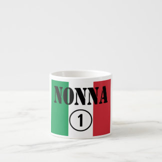 Abuelas italianas: Uno de Nonna Numero Taza Espresso