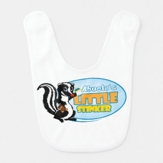 Abuela's Little Stinker Baby Bib