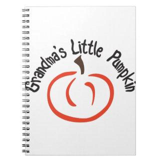 Abuelas poca calabaza spiral notebook