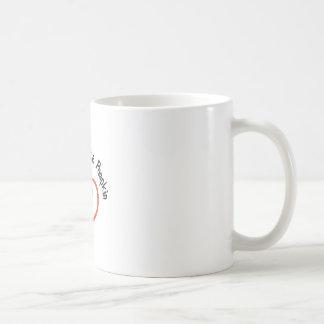 Abuelas poca calabaza taza básica blanca