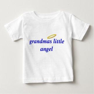 abuelas poco ángel playera de bebé