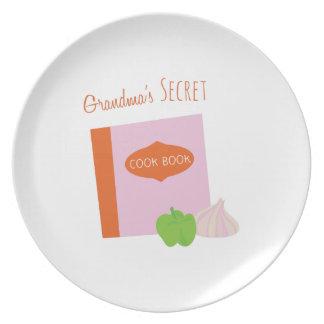 Abuelas secretas plato de comida
