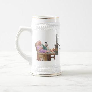 Abuelas y taza de los abuelos