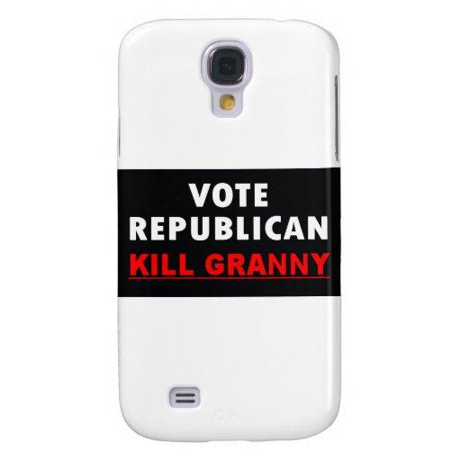 Abuelita de la matanza - republicano del voto