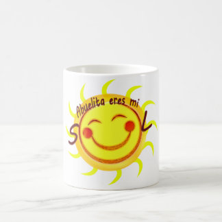 Abuelita Eres Mi Sol Coffee Mug